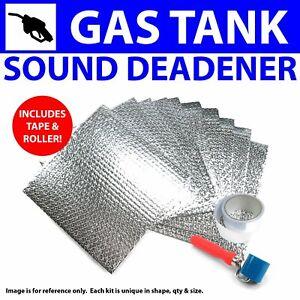 Heat & Sound Deadener Early Cars 1935 - 40 Gas Tank Kit + Tape, Roller ramjet