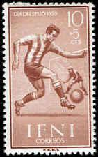 Scott # B43 - 1959 - ' Soccer '