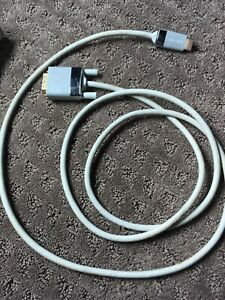 Belkin - HDMI to DVI-D PC Monitor HDTV Video 6ft Cable Gold Connector