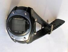 seltene ältere Herren-Armbanduhr, Alarm-Chronograph, Batterie leer