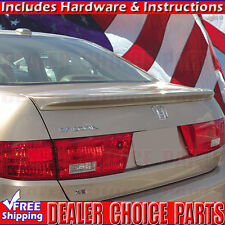 2003-2005 Honda ACCORD 4DR Lip Factory Style Spoiler Wing PRIMER coated