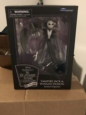 Disney Vampire Jack Skellington & Winged Demon Nightmare Before Christmas Figure