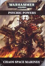 Games workshop warhammer 40000 psychique cartes chaos space marines WH40K 40K nouveau