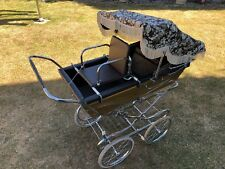 Vintage Classic Silver Cross Pram 1980's Coachbuilt seat - Very Good Condition