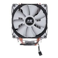 SNOWMAN MT-4 CPU Cooler Master 5 Direct Contact Heatpipes Freeze Tower Coolin W7