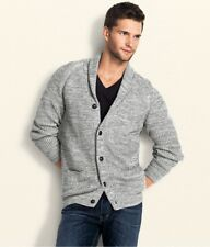 H&M Forever 21 Men's Gray Grey Cardigan Sweater Fashion Knit Coat Jacket Small