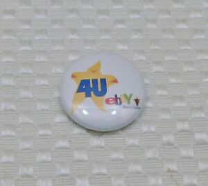 "2005 or 2006 eBay Live 4U Powerseller Button Pin 1"" Diameter"