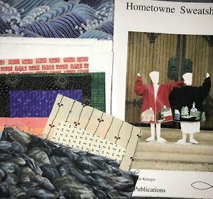 Hometown Sweatshirt QUILT, Fabric, Kit