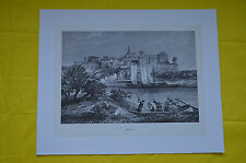 Reproduction de gravure Mont-Jean