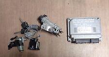 VW Polo 9N 1.2 44kW Bj.07-09 Steuergerät Motor 03D906023 Zündschloss 4B0905851Q