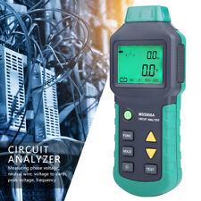 Mastech Ms5908ams5908c True Rms Circuit Analyzer Tester Rcd Gfci Socket Tester