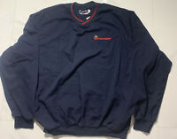 Budweiser Bud Light Anheuser Busch Dark Blue Men's Jacket Size XL Made in USA