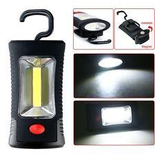COB LED trabajo luz magnética gancho colgante lámpara linterna antorcha Bombilla