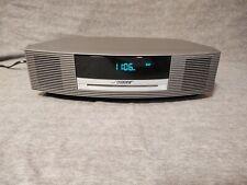 BOSE AWRCC1 WAVE MUSIC SYSTEM CD/ CLOCK/ RADIO, TITANIUM