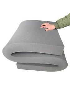 High-Density Upholstery Dark Grey Foam Sheet Replacement Sofa Cushion Chair Seat