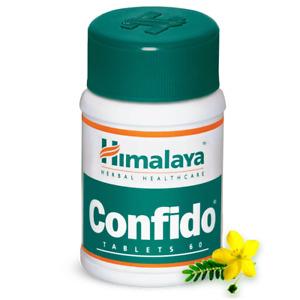 4x Himalaya Herbal Confido 60 Tablets | 4 Pack