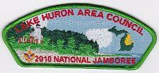 JSP - LAKE HURON COUNCIL - 2010 NATIONAL JAMBOREE - 100TH ANNIV.