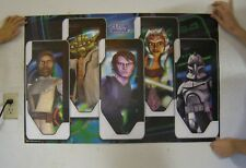 Star Wars Starwars The Clone Wars Poster Commercial