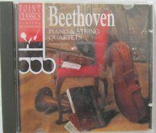Beethoven Piano & String Quartets CD Point Classics 267010-2 Import