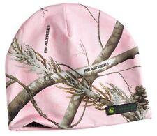 NEW John Deere Reversible Pink Realtree Camo Beanie Stocking Cap 249421