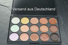 Concealer Lidschatten Camouflage Palette Makeup mit 15 Farben (Contouring