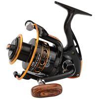 12Bb Spinning Fishing Reel Fishing Wheel For Saltwater Metal Spool Fishing  X4V3