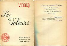Jean Savant - Vidocq, les voleurs - Envoi - EO 1957 - Argot