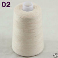 NEW Luxurious Soft 100g Mongolian Pure Cashmere Hand Knitting Cone Wool Yarn 02
