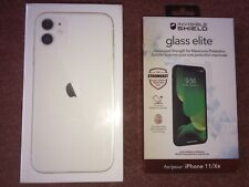 Apple iPhone 11 64GB White Sealed New Boxed I Smart Phone Screen Protector