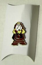 Walt Disney - SPILLA LA BELLA E LA BESTIA - Pin Tockins / Cogsworth - New
