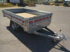 Pkw Anhänger Hochlader 254x153x30cm 750kg ungebremst -alle Bordwände klappbar!