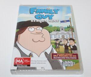 Family Guy Season 9 DVD TV Series Brand New Sealed