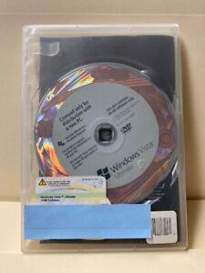Microsoft Windows Vista Ultimate 64-bit_DVD and COA License