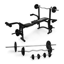 Palestra Panca Multifunzione Fitness Pesi Addominali Allenamento Manubri Set