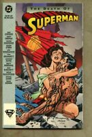 GN/TPB Superman - The Death Of Superman Collected Edition 1st 1993 Edit NM 9.4