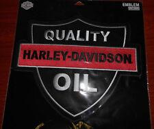 Harley Davidson Quality Oil 2X Patch EM1160306