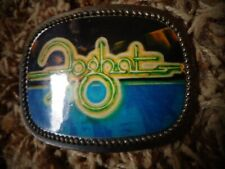 Foghat belt buckle Midwestern 1978 similar to Pacifica Excellent condition