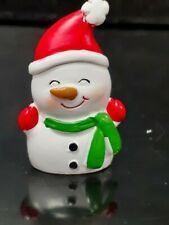 Christmas Snowman - Christmas Cake Topper Decoration with Pic
