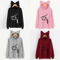 Tops Loose Pullover Sweater Lantern Womens Hoodies Jumper Long Sleeve