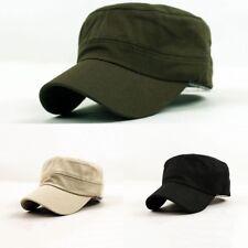 1×Herren Damen Mützen Trucker Hüte Army Caps Hut Kuba Schildmütze Schirm Basecap