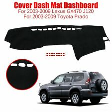 Car Dash Mat Dashboard Cover Carpet For 2003-2009 Toyota Prado Lexus GX470 J120