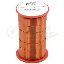 500g Rotolo filo di rame da 0,6 mm singolarmente smaltato per avvolgimenti Cavo