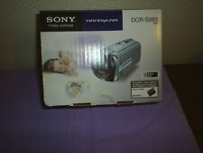 Used Sony DCR-SX85B Handycam, w/extra battery pack $81.50 & free shipping