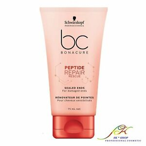 Schwarzkopf BC Bonacure Peptide Repair Rescue Sealed Ends 75ml +FREE TRACKED