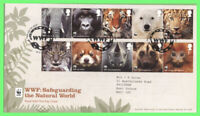G.B. 2011 WWF Natural World set on Royal Mail First Day Cover, Godalming