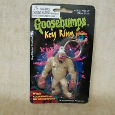Vintage Goosebumps Key Ring Chain The Abominable Snowman Nip old stock 82005