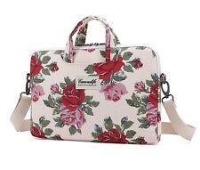 Laptop Tablet Shoulder Bag Purse Pink Flower Notebook Messenger Case Cover NEW