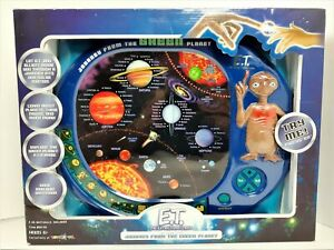 E.T. Journey From The Green Planet Electronic Educational Game Solar System NEW