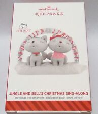 NEW! JINGLE AND BELL'S CHRISTMAS SING-ALONG 2014 HALLMARK KEEPSAKE ORNAMENT