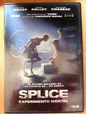 DVD Splice Experimento Mortal